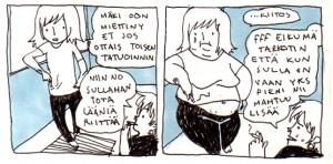 miukki kekkonen mustekalateemuruja sarjakuvablogi sarjakuvablogit.com
