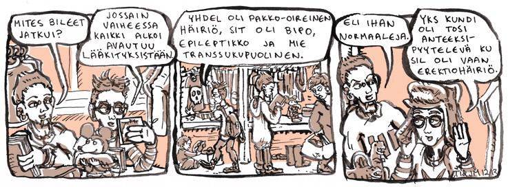 Itäpuolentie sarjakuvablogi