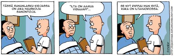 Mika Myyry Riskiryhmä sarjakuvablogi sarjakuvablogit.com sarjakuvaseura sarjakuva