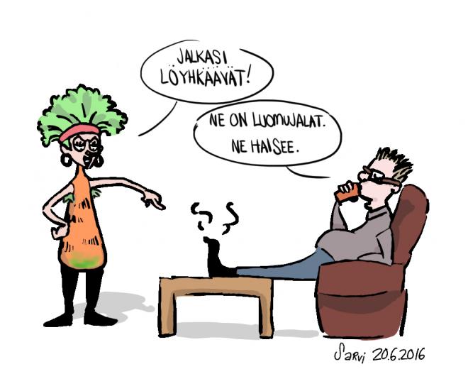 Luomujalat