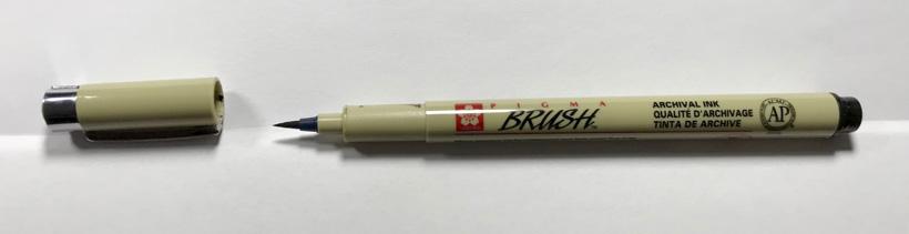 sivellinkyna12 pigma brush pen sakura