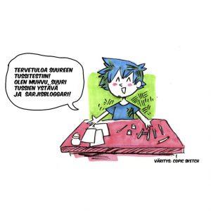 tussitesti muhvu sarjakuvablogit